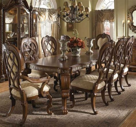 antique dining room ideas with full of earthy hues new traditional curtain designs ideas interior design ideas