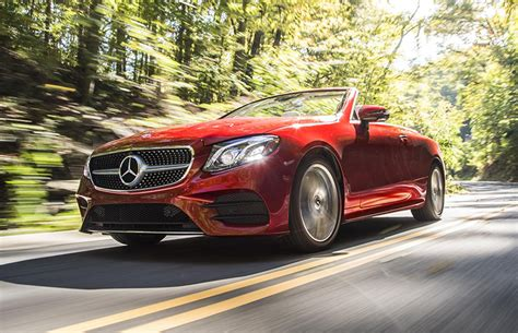 Comfortable Car For Distance Driving by The 2018 Mercedes E Class Cabriolet Design With