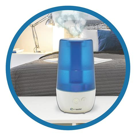 Desk Top Humidifier by Pureguardian 12l Output Per Day Ultrasonic Cool Mist Humidifier Personal Humidifier