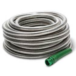 indestructible stainless steel garden hose the green