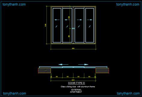 sliding door section dwg bifold door cad block sle free cad blocks autocad