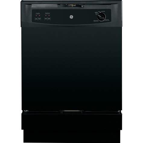dishwasher home ge front control under the dishwasher in black