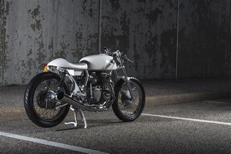 honda cb350f cafe racer anything but vanilla kinesis moto honda cb350f return
