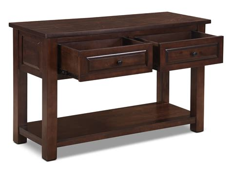 what is sofa table vienna sofa table the brick