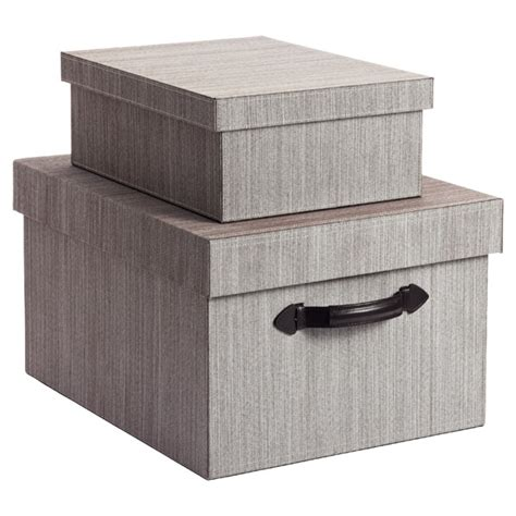 storage box cappuccino fabric storage boxes the container store