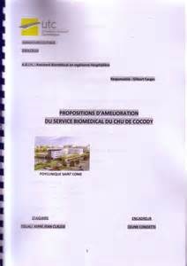 couverture de rapport de stage exemple studio design