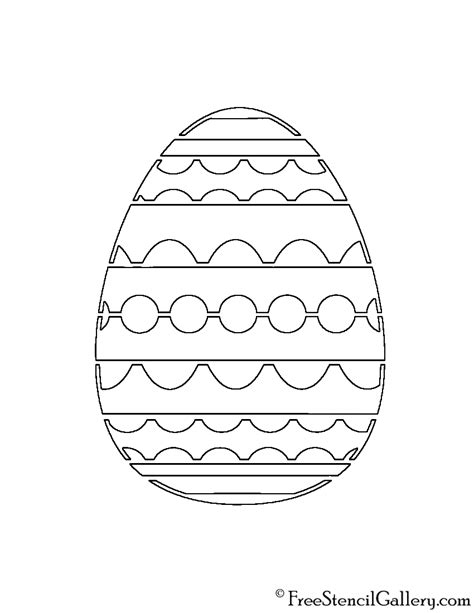 easter stencils printable home gt pumpkin carving easter egg 01 stencil free stencil gallery
