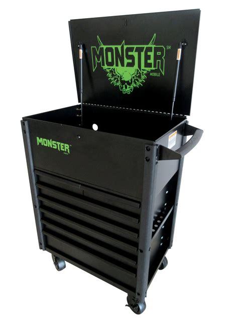 monster 4 drawer tool cart monster seven drawer fully assembled cart in tool carts