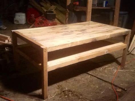 diy reclaimed pallet wood table pallet furniture diy