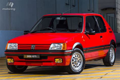 pug 205 gti peugeot 205 gti sets world record price motoring au