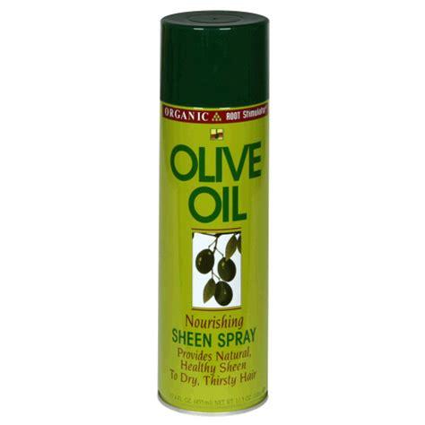 Olive Hair Shoo olive sheen spray orgainc root stimulator restore