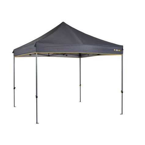 oztrail compact gazebo oztrail 2 4m heavy duty compact gazebo bunnings warehouse