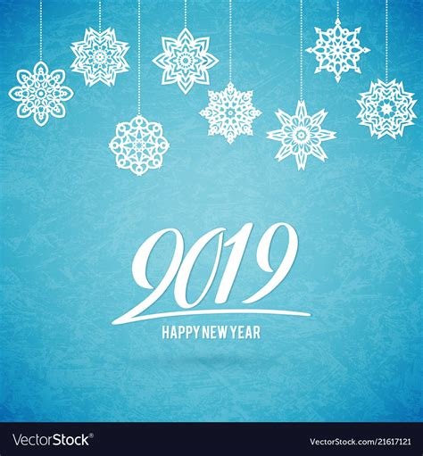 merry christmas  happy  year  card  vector image