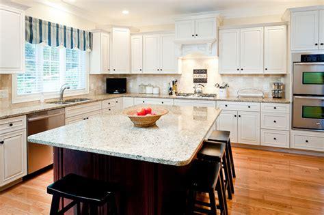 Kitchen Design Boston by New Venetian Gold Granite Countertops Traditional
