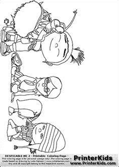 Kaos Minion Kaos Despicable Me Min 006 skylanders coloring page with the villain