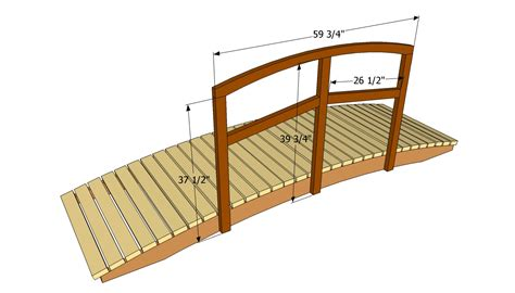 wooden bridge plans storage sheds menards free wooden garden bridge plans