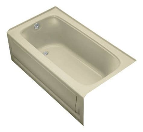 3 foot bathtub kohler bancroft 5 foot bathtub k 1150 la 0 for