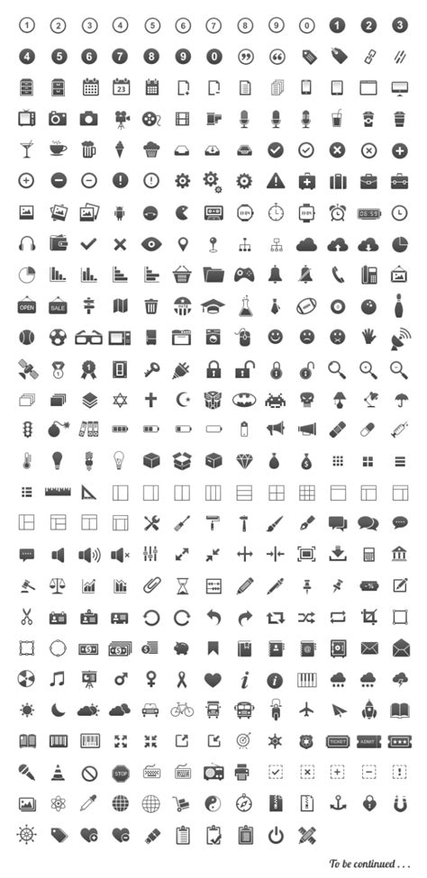 30 Free Icon sets for graphic and web designers - Download now