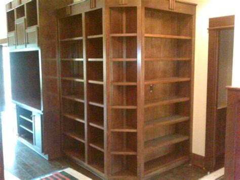 Wrap Around Bookcases With Cabinets Wrap Around Corner Shelves By Nathan And Allen Shelves