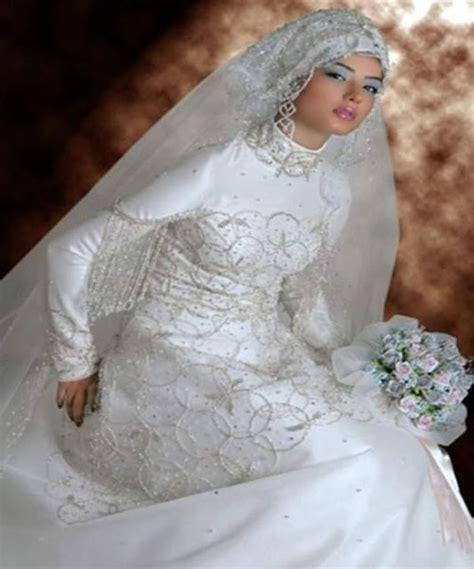 Baju Pengantin Jilbab baju pengantin muslim dan model kebaya pengantin modern terbaru terkini 2016