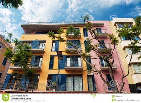 spanish appartment beautiful colorful spanish apartments stock photo image 17938870
