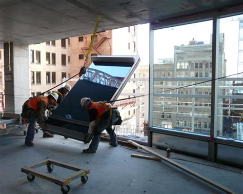 curtain wall installation construction services