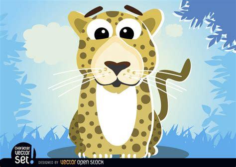 imagenes animales de la selva animados leopard en dibujos animados de animales de la selva