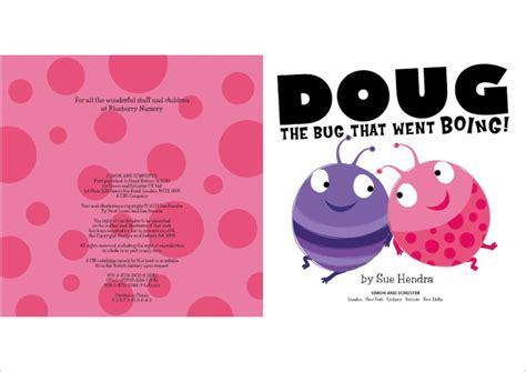 doug the bug doug the bug that went boing scholastic kids club