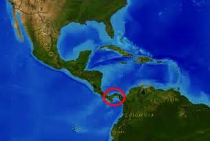 Panama On World Map by Panama Canal Lesson