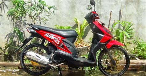 Lu Proji Motor Beat modifikasi beat fi velg jari jari thecitycyclist