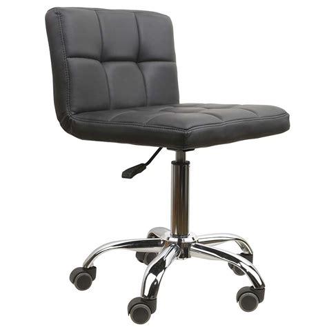 Black Comfy Chair Eurostyle Nail Technician Chair Stylish Black