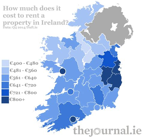 cheapest rent in the country here is what it costs to rent a property in ireland
