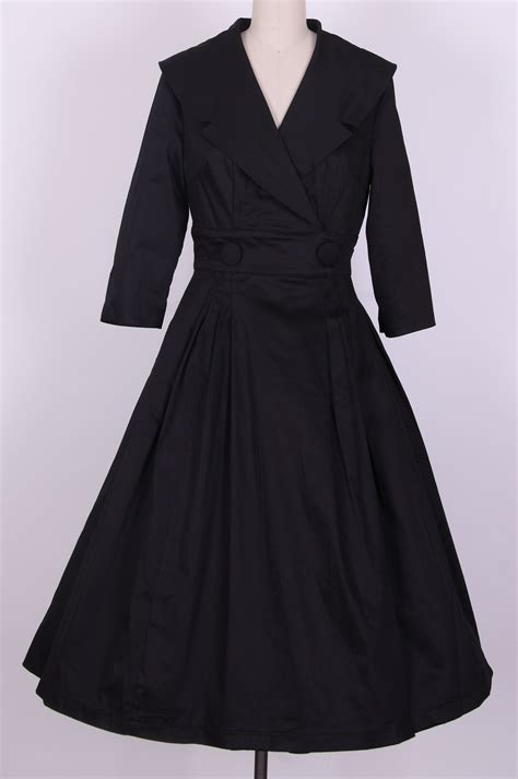 Dress Coat hepburn coat dress black ah3011a ah3011a 163 49 99
