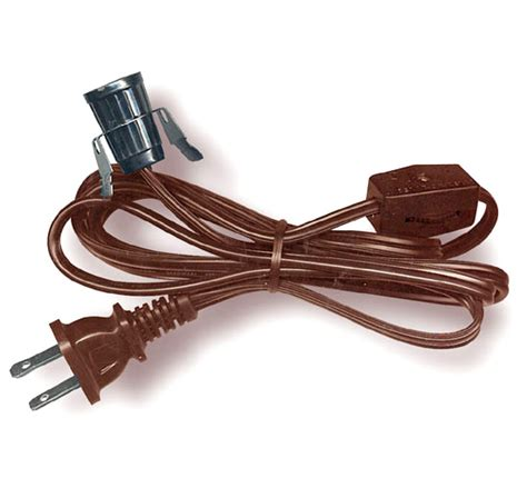 l socket and cord set l cord sets with candelabra base socket switch and