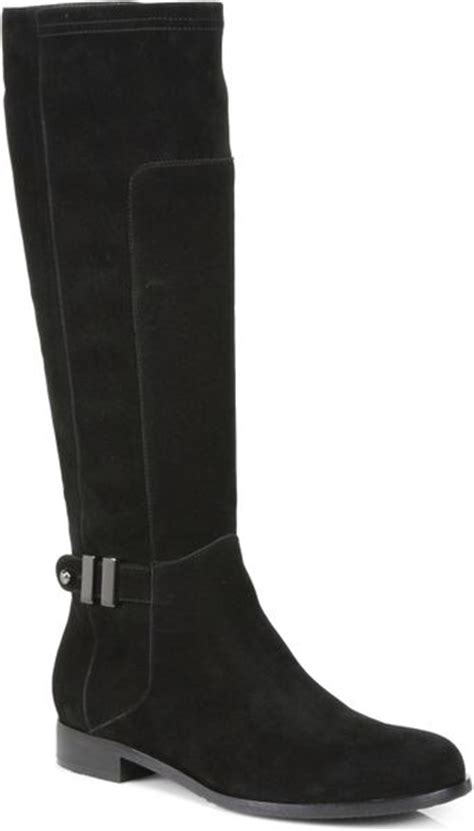 aquatalia by marvin k dovert suede boots in black