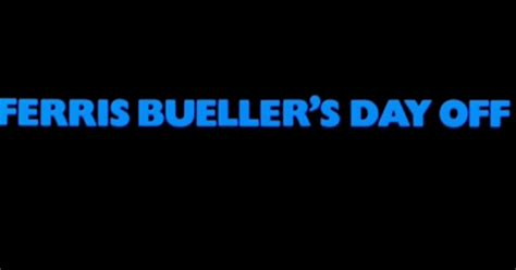 s day locations locations and more ferris bueller s day 1986