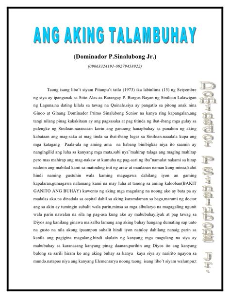 Ang Guro Ko Bayani Ko Essay by Ang Bayani Ng Aking Buhay Essay