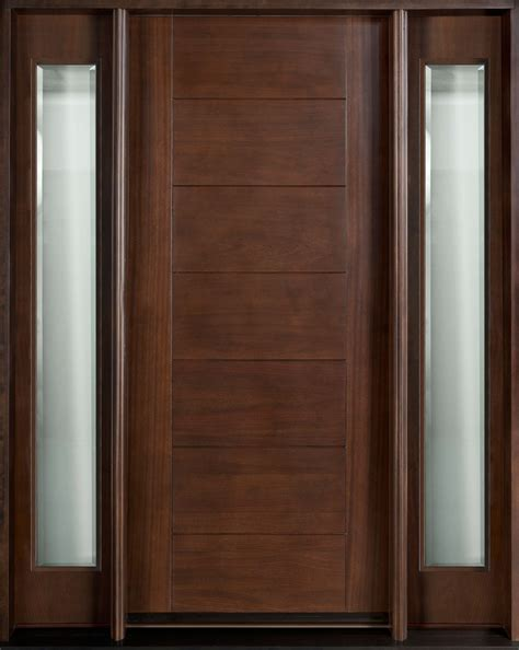 convert wood doors to glass exterior wooden doors with glass panels affordable