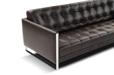 Nicoletti Juliet Premium Leather Sofa With B07 Arms By J M Premium Leather Sofas