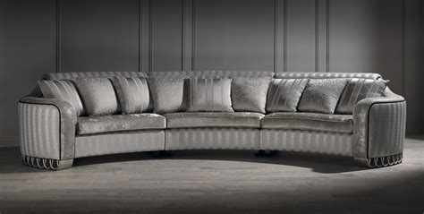 luxury sofas and chairs silver curved sofa luxury curved sofa unusual sofa