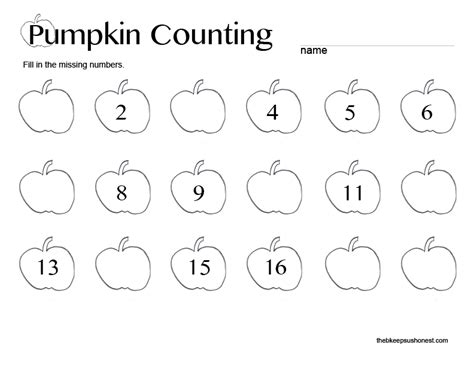 pumpkin counting coloring pages free coloring pages of pumpkin counting