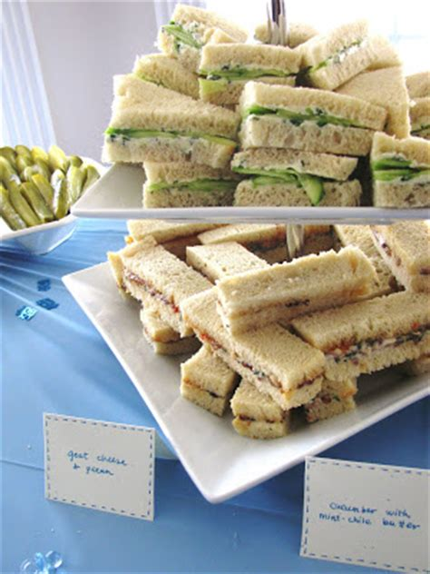 Tea Sandwiches For Baby Shower foodie family tea sandwiches cookies and baby showers