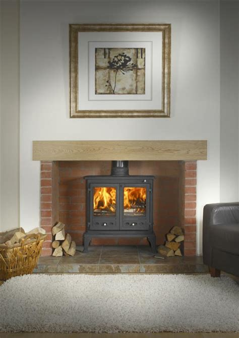 Fireplace With Wood Burner by Firefox 12 Stove Firefox 12b Boiler Stove Uk