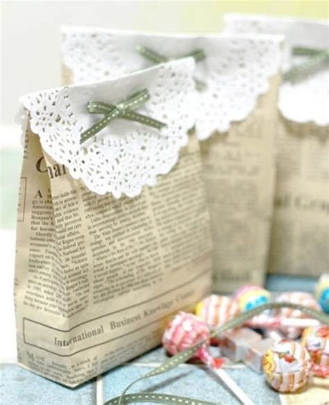 Handmade Wedding Souvenirs Ideas - diy vintage wedding favors handmade vintage gift bag