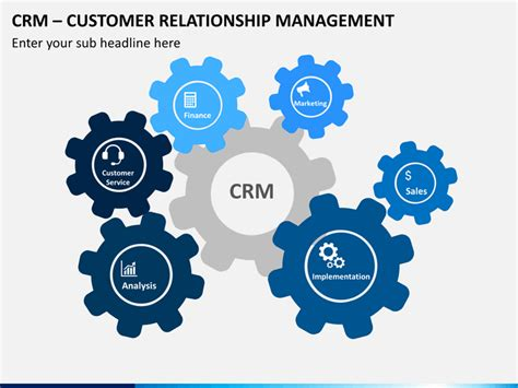 Customer Relationship Management Template by Customer Relationship Mangement Crm Powerpoint Template