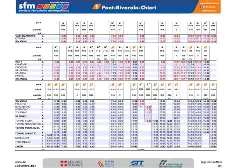 orari treni torino porta susa orario completo sfm torino al 15 12 2013