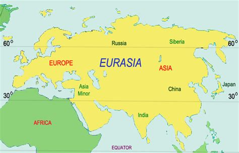 eurasia map pin map of eurasia with countries on