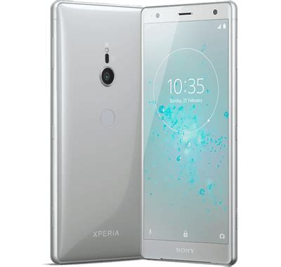 sony xperia xz2 silver deals best contracts, payg, sim