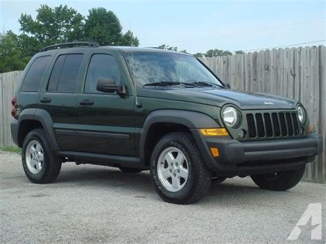 jeep sport green 2007 jeep liberty sport 4dr suv automatic 4 door suv green