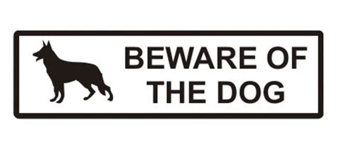 beware the dog house beware of the dog sign a1 personalised gifts